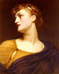 """Antigone"" by Frederic Leighton"